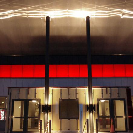 Jakobsbergs Sporthall Ingång