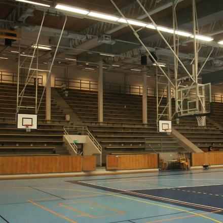 Jakobsbergs Sporthall Läktare