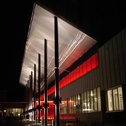 Jakobsbergs Sporthall Entré