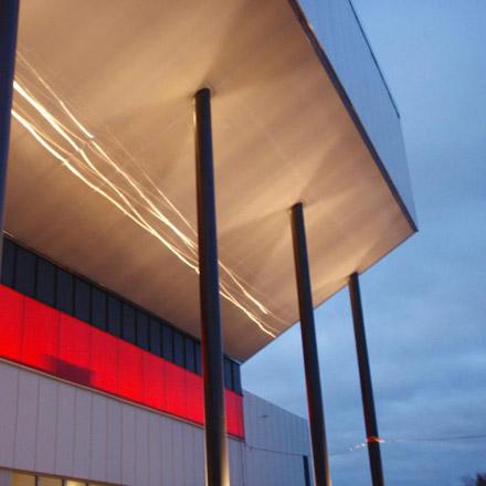 Jakobsbergs Sporthall Belysning