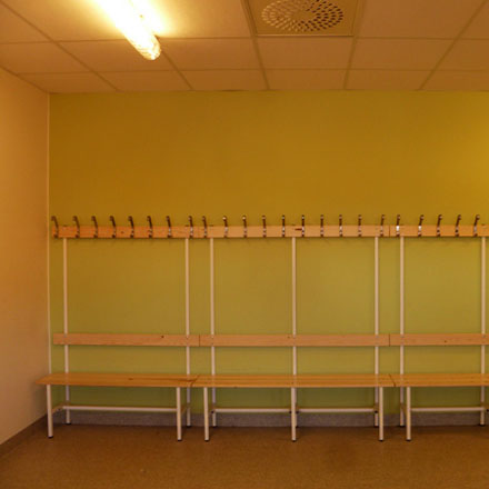 Björkeby Sporthall Omklädningsrum