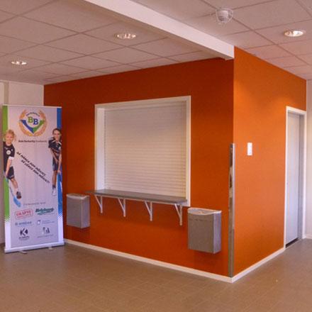 Björkeby Sporthall receptionen
