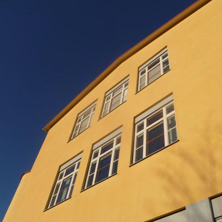Järla skola fönster