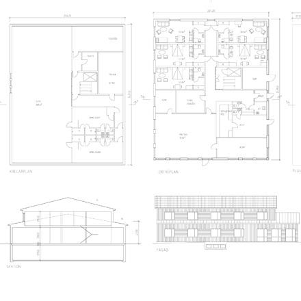 Runö hantverksby fasad