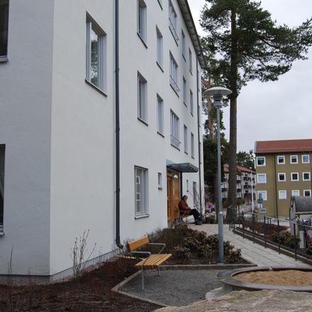 Stadsbudet och Portvakten i Hökarängen