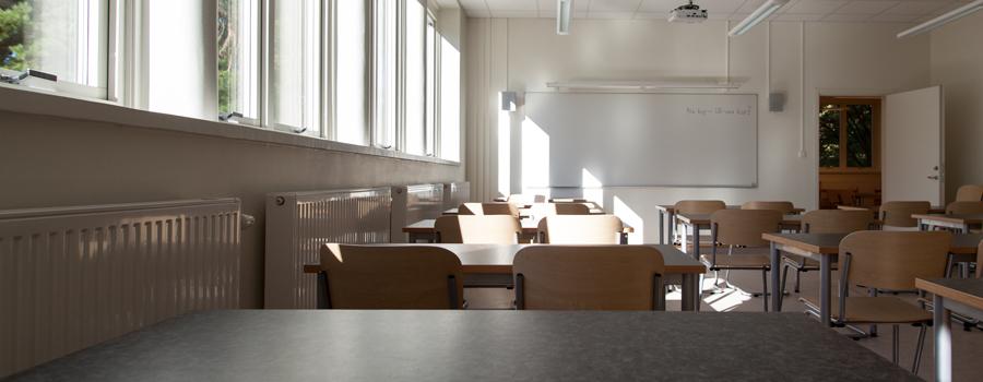 Klassrum Träkvista skola