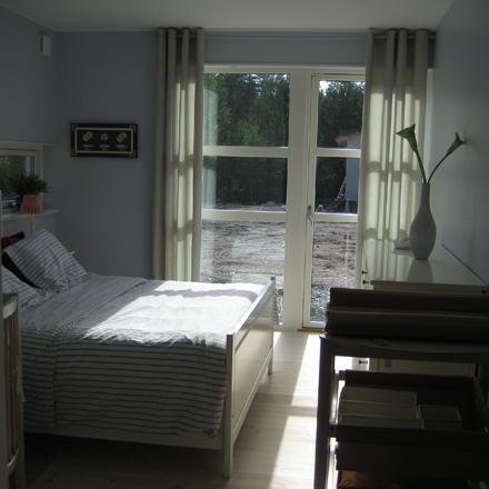 Villa Ektorp sovrum