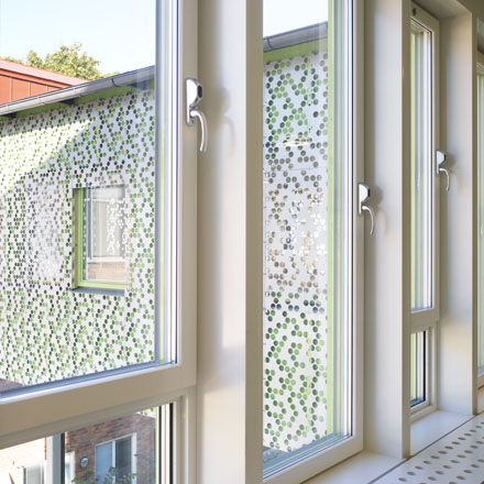Ulvsättraskolan fönster