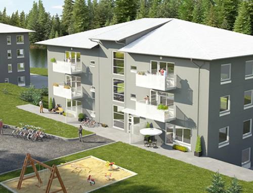 Bostadshus i Kallfors